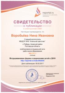 Воробьёва публикация 09.02.17г.