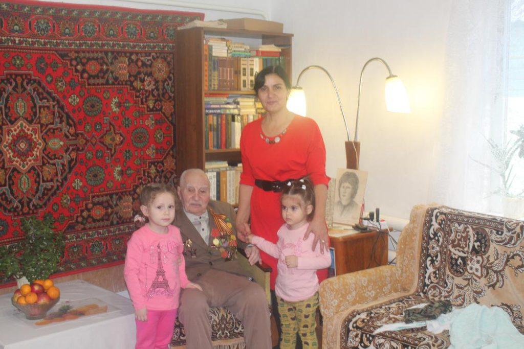Посещение ветерана ВОВ